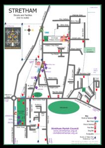 Stretham Map